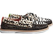 Cloud Authentic Original 3-Eye Boat Shoe, Multi, dynamic