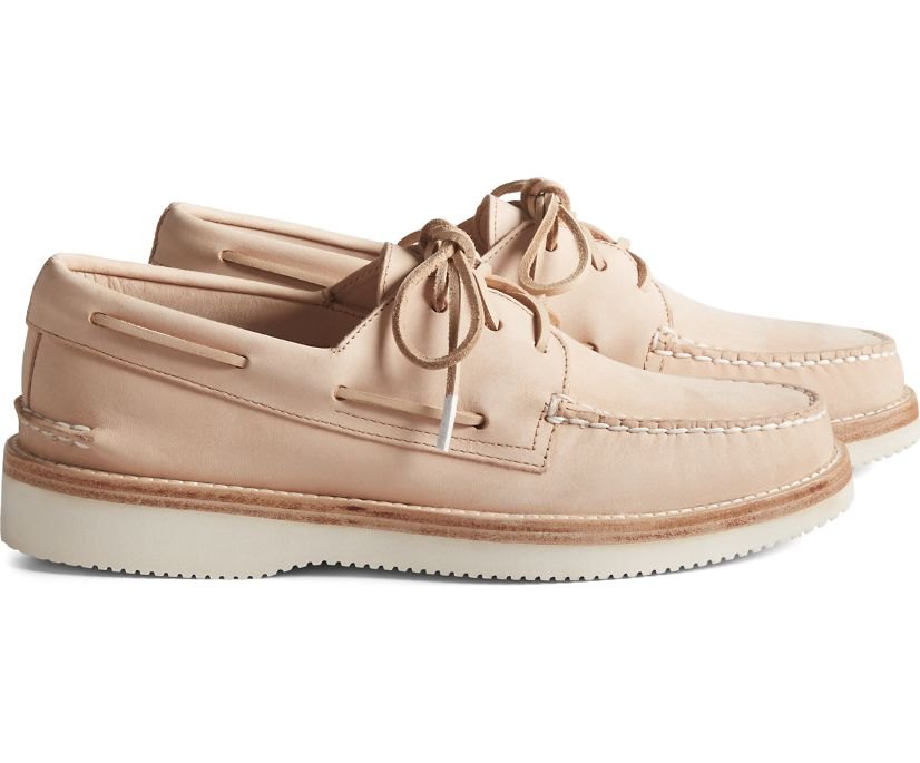 Cloud Authentic Original 3-Eye Boat Shoe, Veg Natural, dynamic