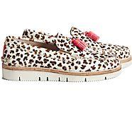 Cloud Authentic Original Tassel Loafer, Leopard Tan, dynamic