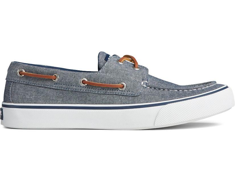 Bahama II Chambray Sneaker, Navy, dynamic
