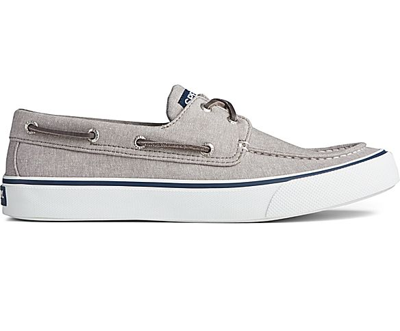 Bahama II Chambray Sneaker, Grey, dynamic