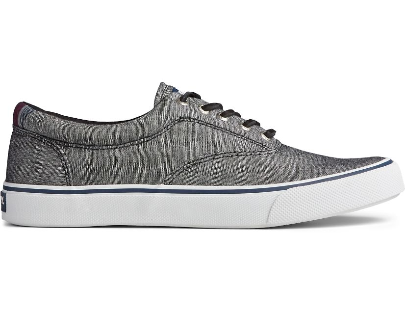 Striper II CVO Chambray Sneaker, Black, dynamic