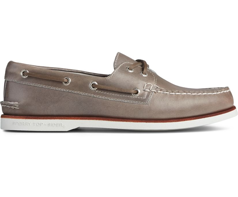 Gold Cup Authentic Original Orleans Boat Shoe, Grey, dynamic