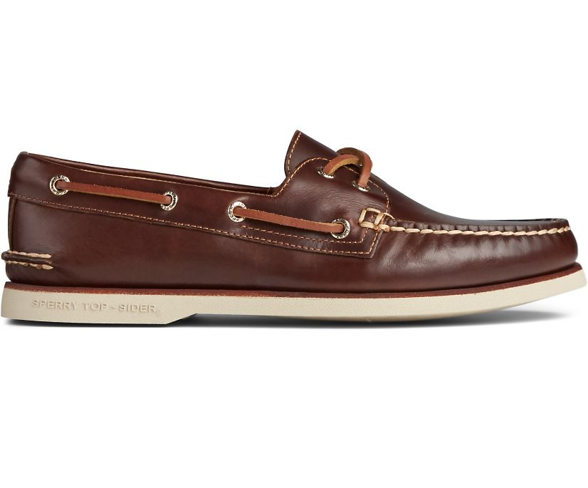 Gold Cup Authentic Original Orleans Boat Shoe, Tan, dynamic