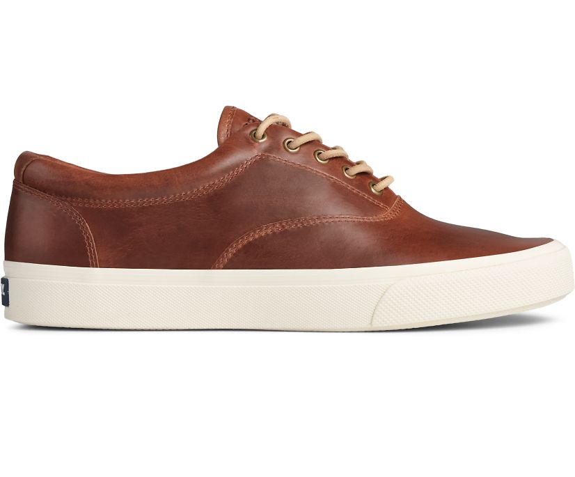 Striper PLUSHWAVE CVO Leather Sneaker, Dark Tan, dynamic