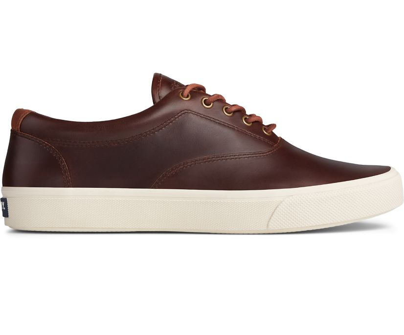 Striper PLUSHWAVE CVO Leather Sneaker, Dark Brown, dynamic