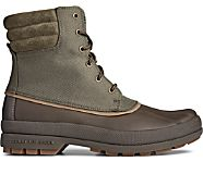 Cold Bay Nylon Duck Boot, Olive Nylon, dynamic