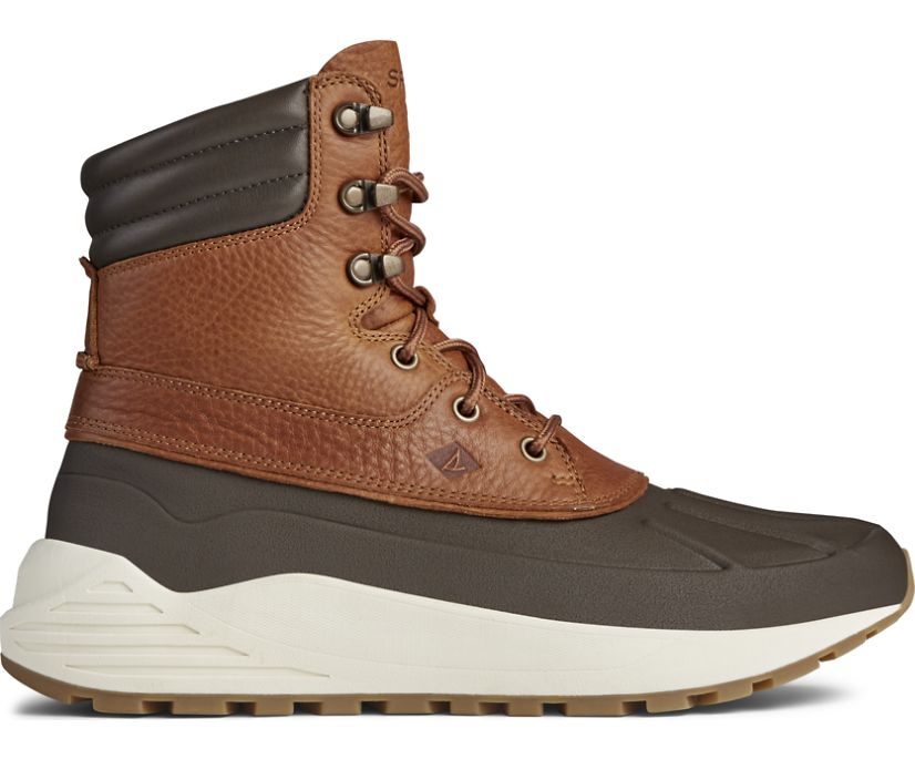 Freeroam Hiker Boot, Dark Brown/Tan, dynamic