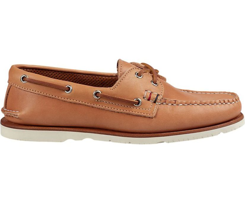 Gold Cup Handcrafted in Maine Authentic Original Boat Shoe, Natural, dynamic
