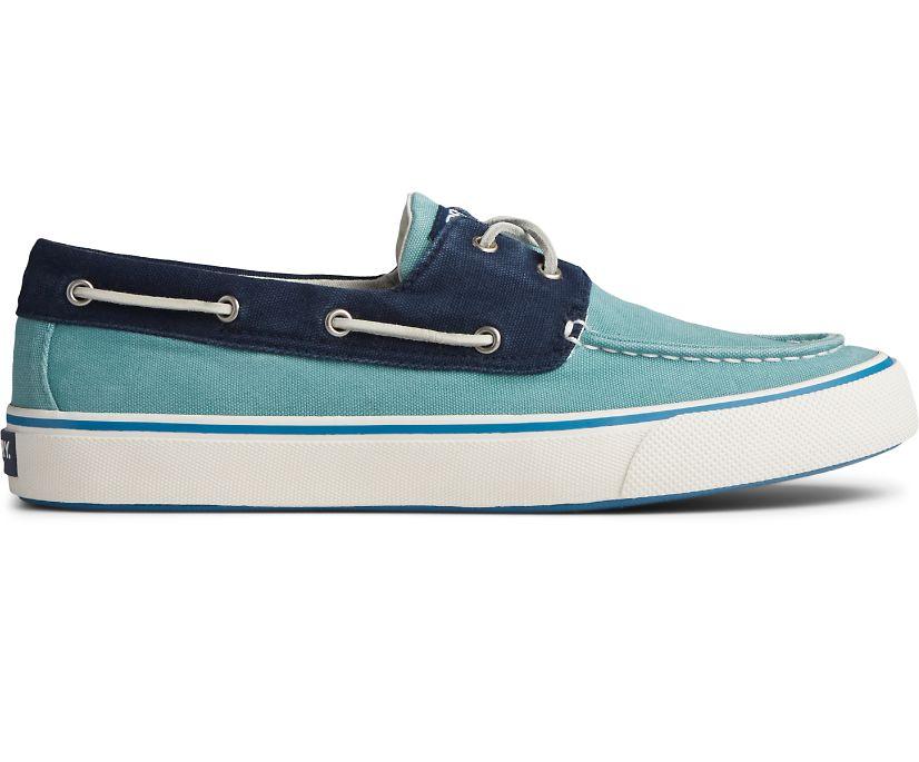 Bahama II Sneaker, Green/Navy, dynamic