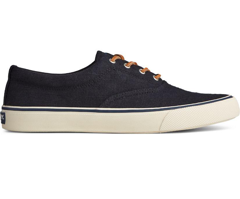 Striper II CVO Baja Linen Sneaker, Black, dynamic