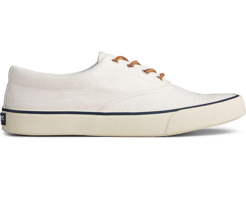 Striper II CVO Baja Linen Sneaker, White, dynamic