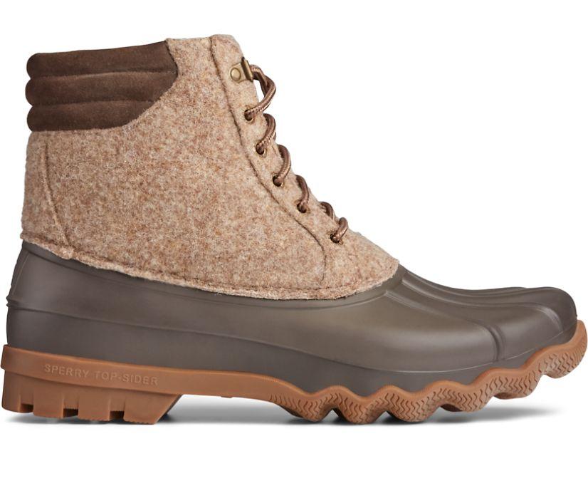 Avenue Wool Duck Boot, Tan/Brown, dynamic