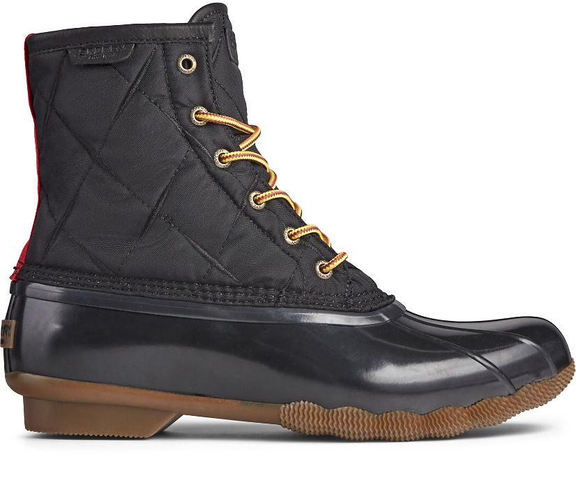 Saltwater Nylon Duck Boot, Black, dynamic