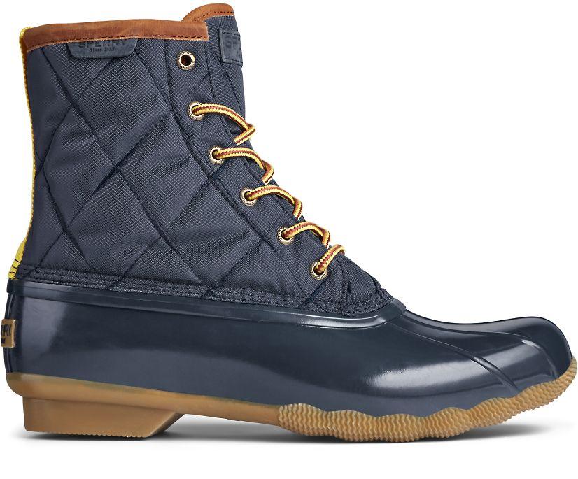 Saltwater Nylon Duck Boot, Navy, dynamic