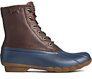 Saltwater Duck Boot, Brown/Navy, dynamic