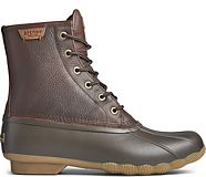 Saltwater Duck Boot, Tan/Brown, dynamic