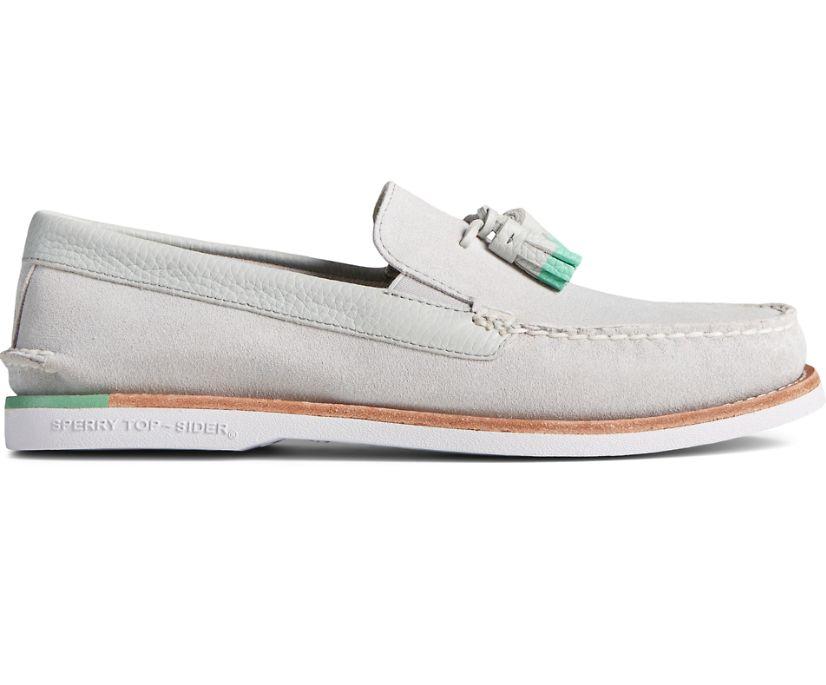 Authentic Original Tassel Loafer, Grey/Green, dynamic