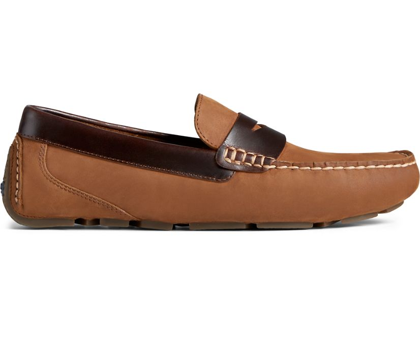 Harpswell Penny Loafer, Brown, dynamic