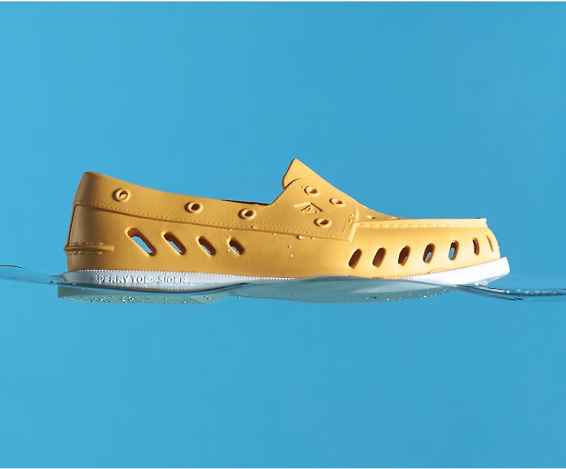 Authentic Original Float Boat Shoe, Orange, dynamic