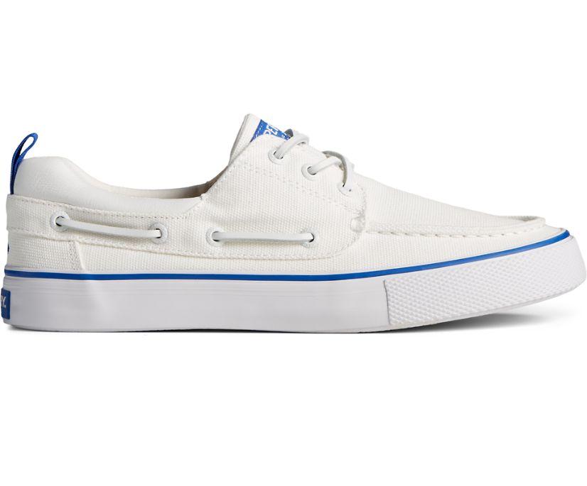 Bahama 3-Eye Canvas Sneaker, White, dynamic