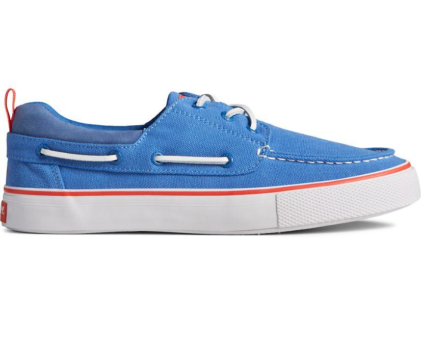 Bahama 3-Eye Canvas Sneaker, Blue, dynamic