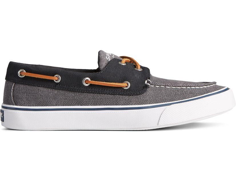 Bahama II Waxy Canvas Sneaker, Grey Tonal, dynamic