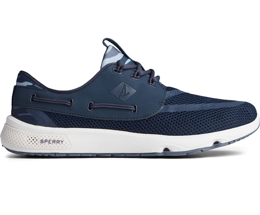 7 Seas 3-Eye Sneaker, Navy, dynamic