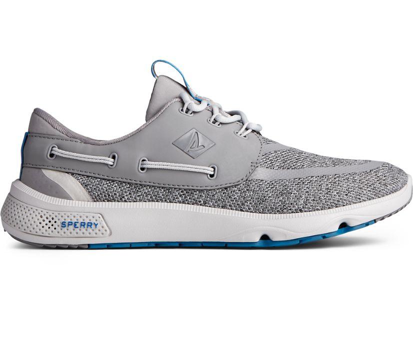 7 Seas 3-Eye Heathered Sneaker, Grey, dynamic