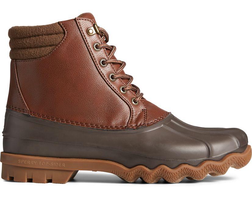 Avenue Embossed Duck Boot, Tan/Brown, dynamic