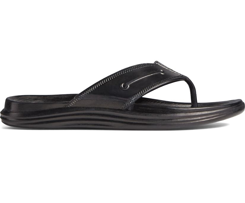 Windward Float Flip Flop, Black, dynamic