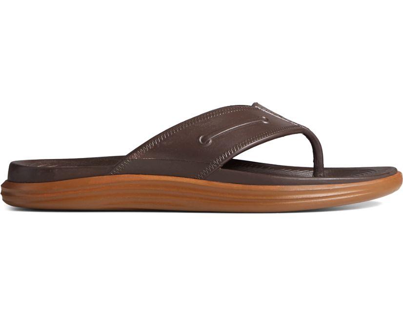 Windward Float Flip Flop, Brown/Gum, dynamic