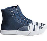 Cloud CVO Linen Hi Sneaker, Navy, dynamic