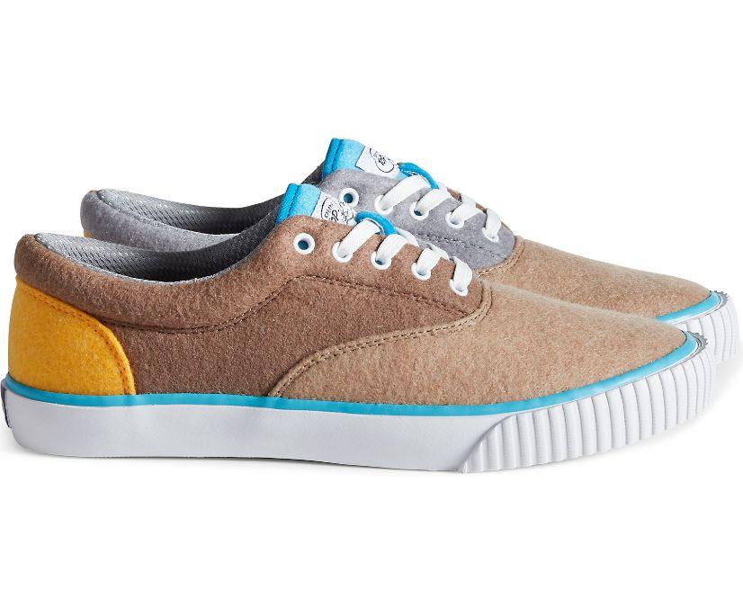 Cloud CVO PETT Felt Padded Sneaker, Tan Multi, dynamic