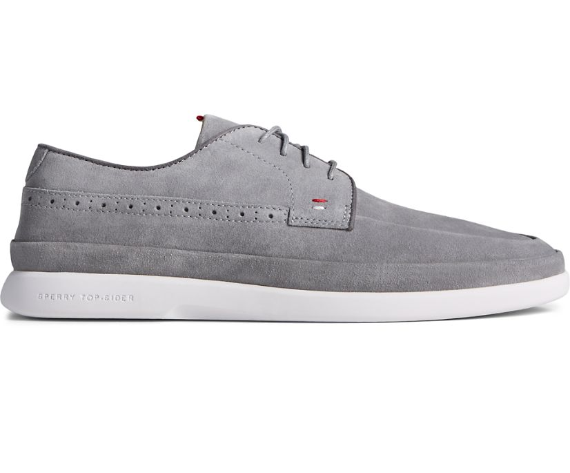 Gold Cup Cabo PLUSHWAVE 4-Eye Oxford, Grey Suede, dynamic
