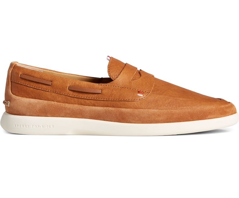Gold Cup Cabo PLUSHWAVE Penny Loafer, Tan, dynamic