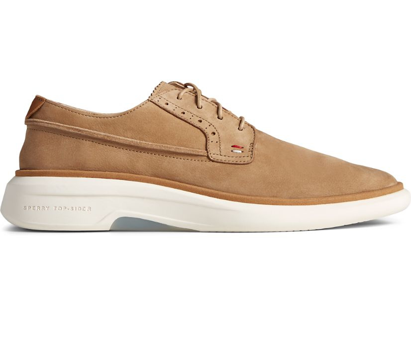 Gold Cup Commodore PLUSHWAVE Oxford, Tan Nubuck, dynamic