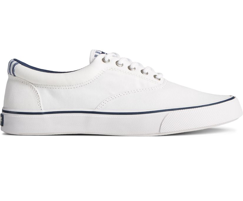 Striper II CVO Washed Stripe Sneaker, White, dynamic