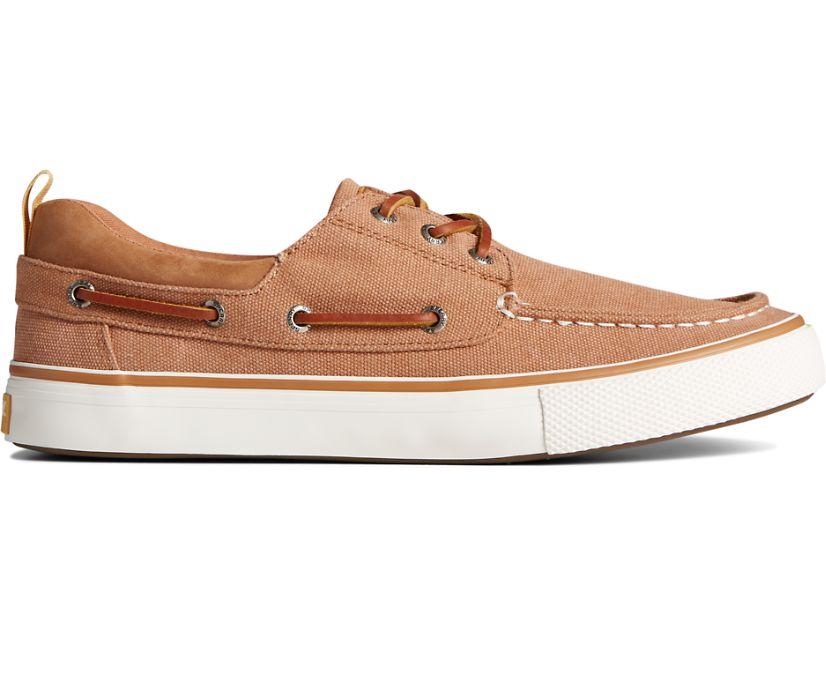 Bahama 3-Eye Salt Washed Canvas Sneaker, Cashew, dynamic