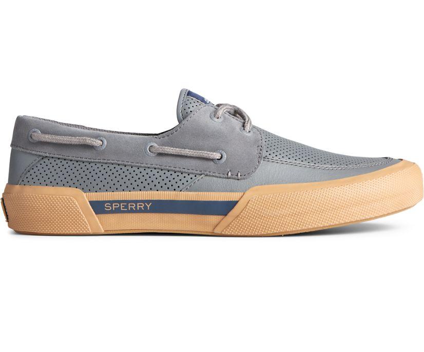 Soletide 2-Eye Sneaker, Grey/Gum, dynamic