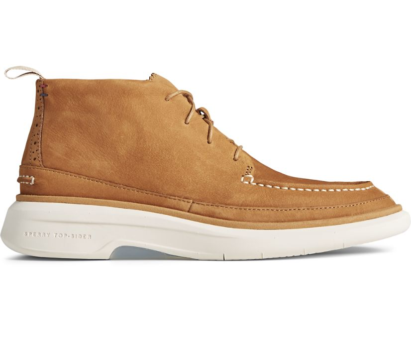 Gold Cup Commodore PLUSHWAVE Chukka, Tan, dynamic
