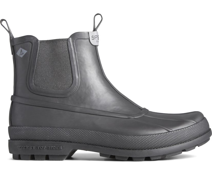 Cold Bay Rubber Chelsea Boot, Black, dynamic