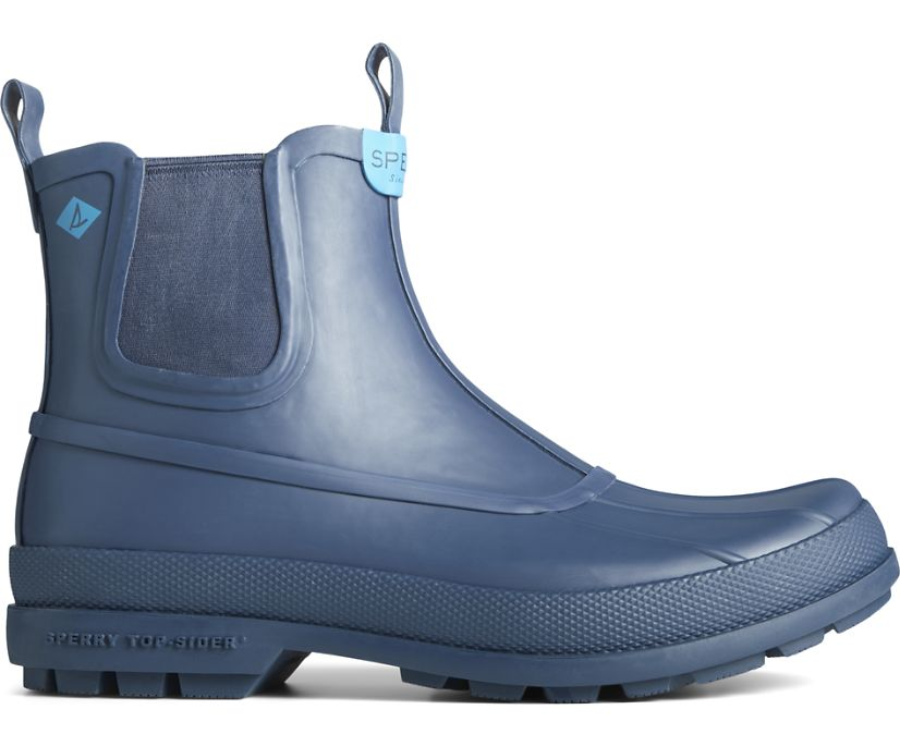 Cold Bay Rubber Chelsea Boot, Navy, dynamic