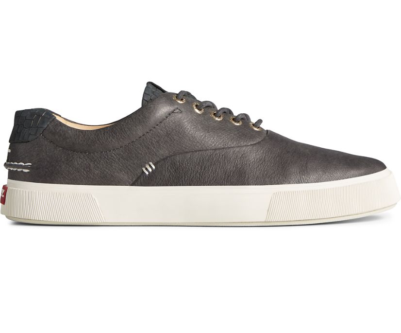 Gold Cup Striper PLUSHWAVE CVO Croc Leather Sneaker, Black, dynamic