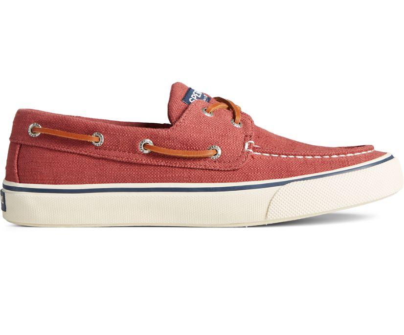 Bahama II Baja Linen Sneaker, Red, dynamic