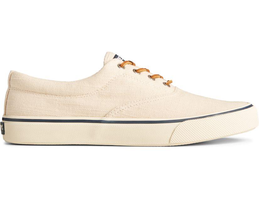 Striper II CVO Baja Linen Sneaker, Ivory, dynamic