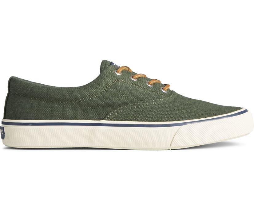 Striper II CVO Baja Linen Sneaker, Olive, dynamic