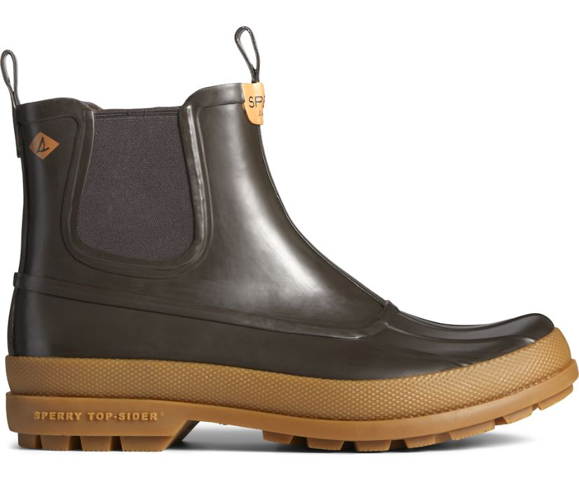 Cold Bay Rubber Chelsea Boot, Brown, dynamic