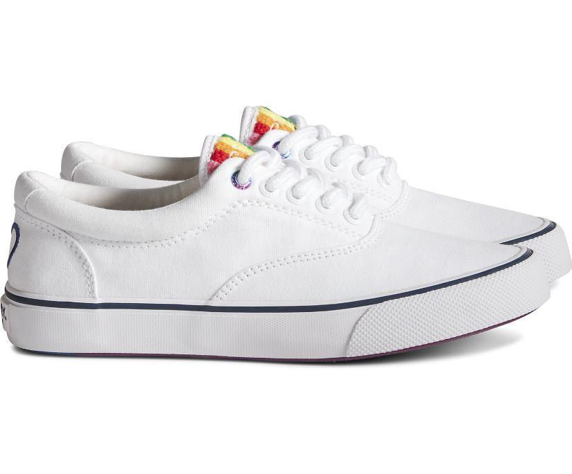 Unisex Striper CVO Pride Sneaker, White Multi, dynamic