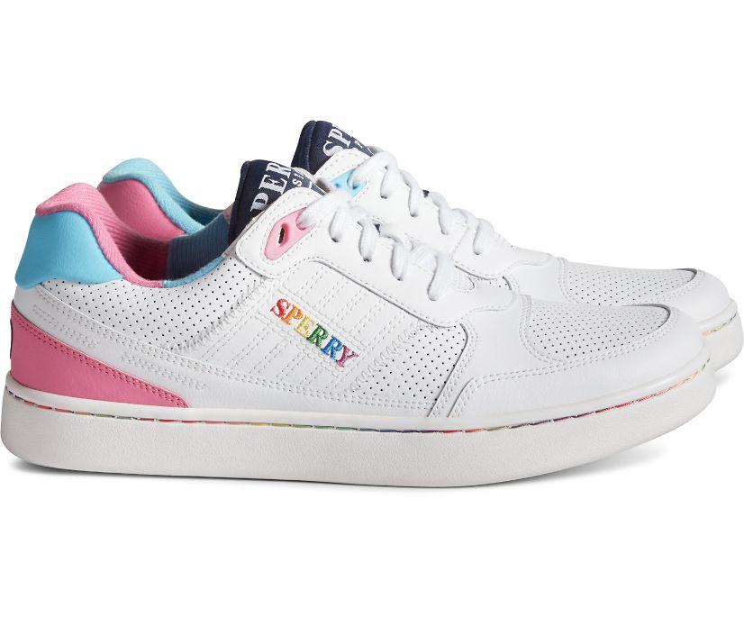 Unisex SB19 Pride Sneaker, White Multi, dynamic